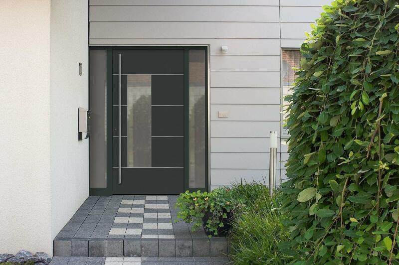aluminium haust r sch co ads 75 si fensternorm com. Black Bedroom Furniture Sets. Home Design Ideas