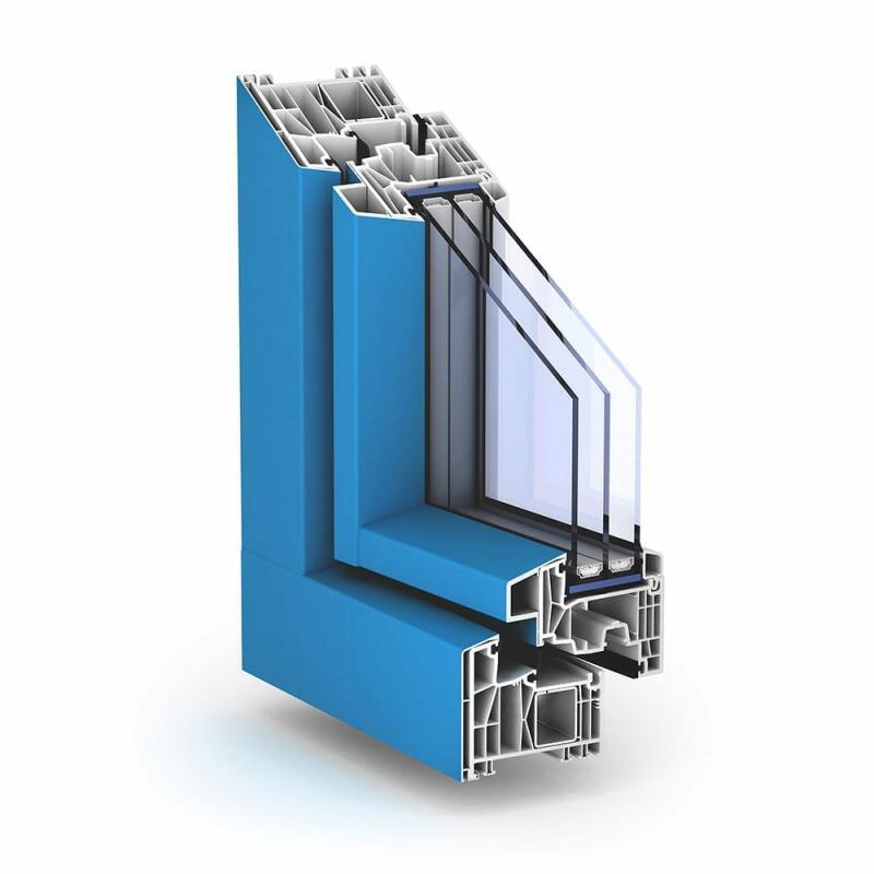 Alu kunststofffenster trocal 88 aluclip pro fensternorm com for Alu kunststofffenster