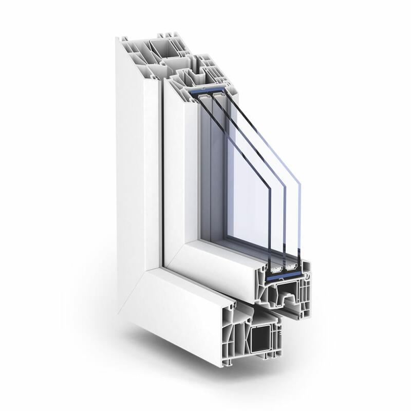 Pvc fenster trocal 88 standard von fensternorm com for Fenster outlet