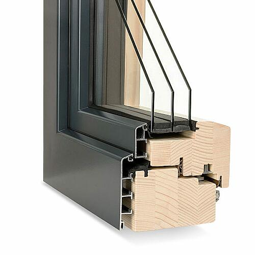 g nstige holz alu fenster passiv 110 von fensternorm com. Black Bedroom Furniture Sets. Home Design Ideas